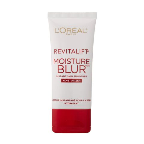 """<p><span class=""""s1"""">One of our drugstore cornerstones, its light-diffusing Opti-Blur technology is no joke</span>—especially for mature skin. The super-hydrating, skin-smoothing ingredients firm skin, fills in fine lines, and eliminates pores in one fell, long-lasting suh-woop.<br></p><p>L'Oreal Revitalift Moisture Blur, $24.99; <a href=""""http://bit.ly/1N4Totk"""" target=""""_blank"""">ulta.com</a>.</p><p><br></p>"""
