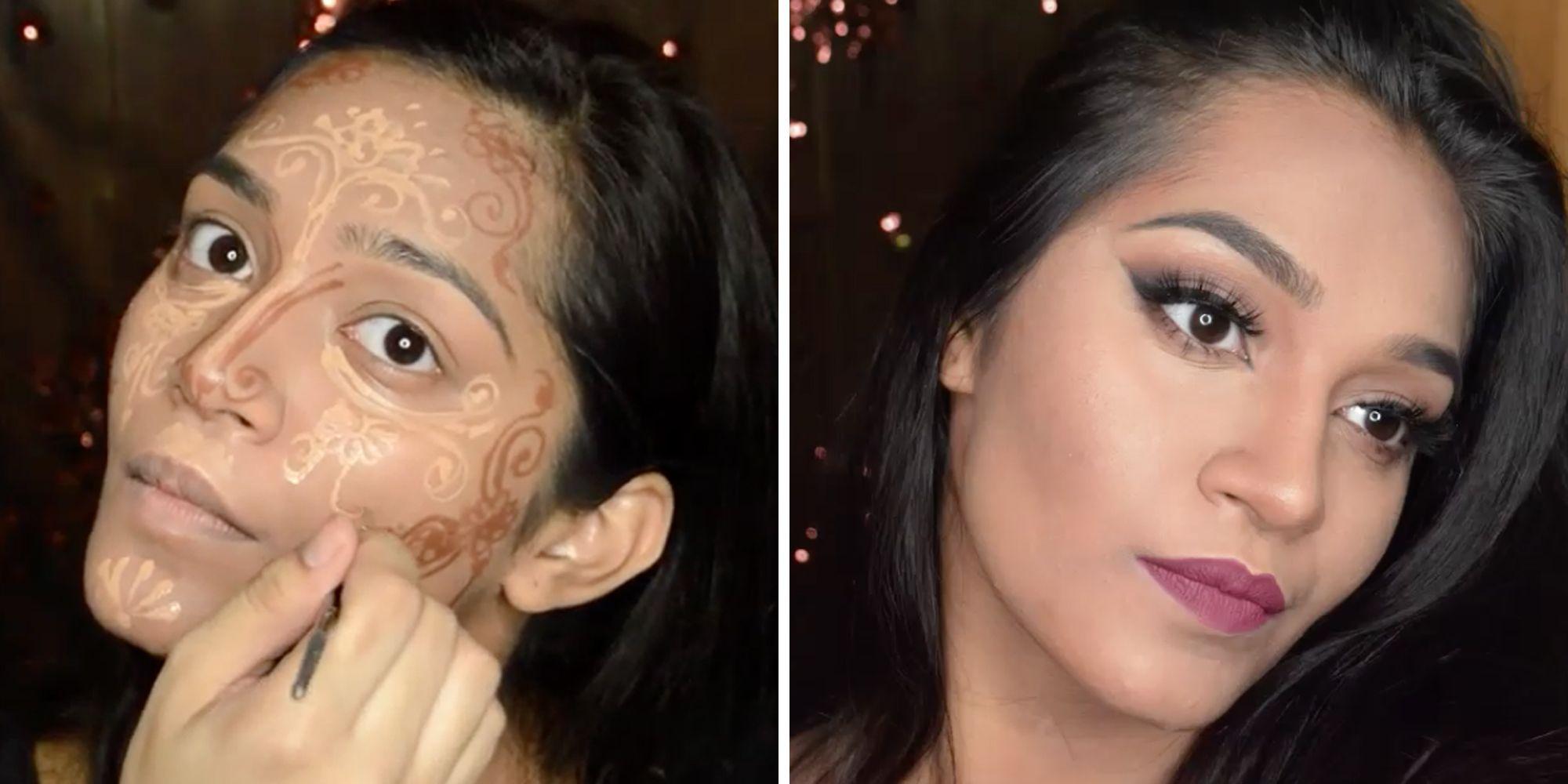 Henna Contouring How To Henna Contour