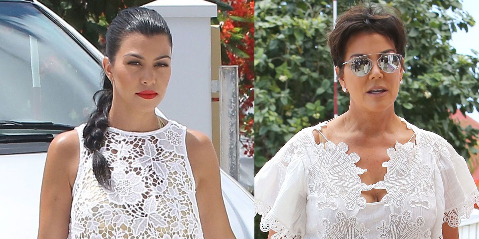 13 Times Kris Jenner Stole Her Kids' Clothes