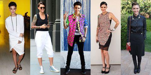Clothing, Footwear, Leg, Textile, Outerwear, Style, Fashion accessory, Street fashion, Fashion, Sunglasses,