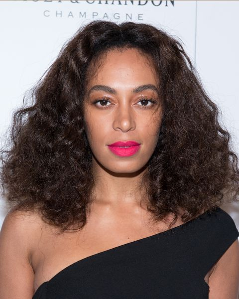 <p>This summer, Solange and Rihanna lead the charge for embracing frizz and big, fluffy curls are heading straight past summer. Curly girls, heads up, you can achieve this look just by brushing out your coils with a round brush.</p>