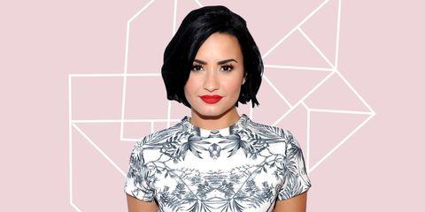 Lip, Cheek, Hairstyle, Chin, Forehead, Eyebrow, Eyelash, Pattern, Style, Black hair,