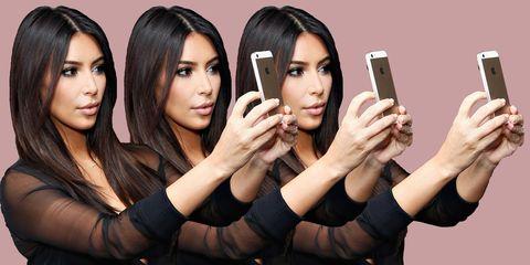 The Kim Kardashian Guide to Taking the Perfect Selfie