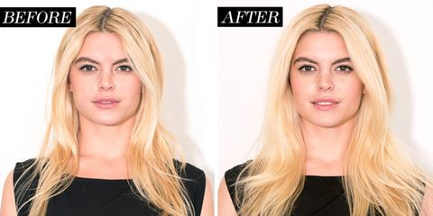 Image result for dry shampoo before after