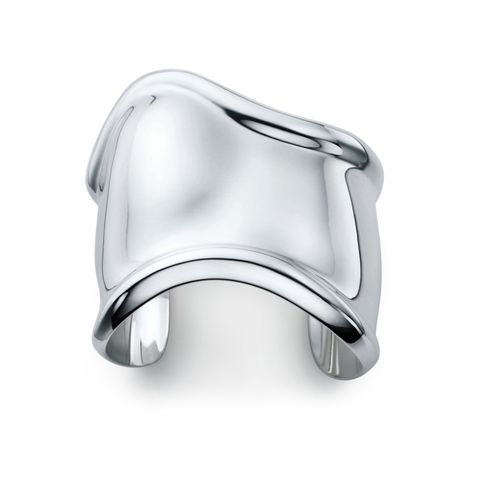 "<p>A work of art for your wrist, this sculpted silver cuff will punctuate every outfit.</p><p>Tiffany & Co. Elsa Peretti® Bone Cuff, $1,150; <a href=""http://www.tiffany.com/Shopping/Item.aspx?siteid=1&sku=10659027"" target=""_blank"">tiffany.com</a>.</p><p><br></p>"