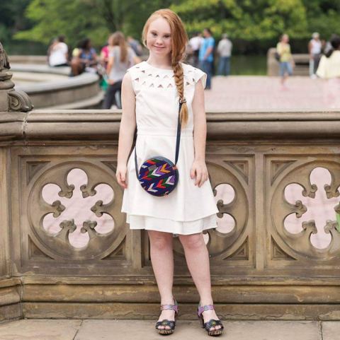 <p>Stuart, 18, may have Down syndrome, but that hasn't stopped the gorgeous redhead from steadfastly pursuing a modeling career. During this upcoming New York Fashion Week, Stuart—who has garnered over 60,000 Instagram followers—will hit the catwalk for FTL Moda, in association with the Christopher Reeve Foundation.</p>