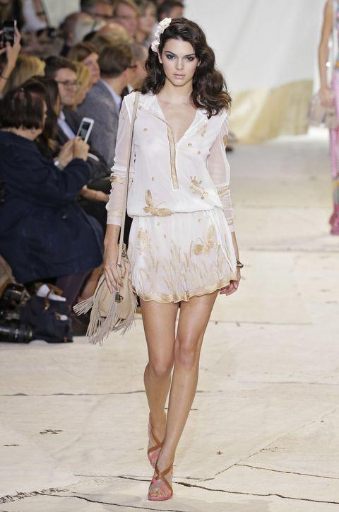 Clothing, Human, Fashion show, Shoulder, Outerwear, Runway, Fashion model, Style, Street fashion, Fashion accessory,