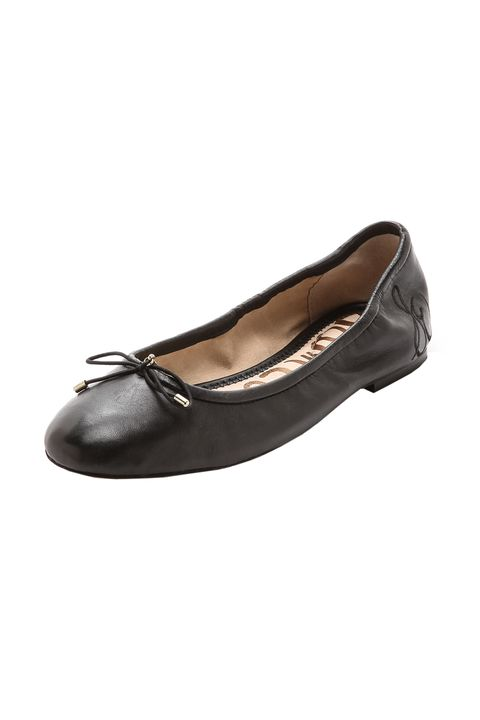 "<p>There's no chicer way to give your poor soles a break.</p><p>Sam Edelman Ballet Flats, $100; <a href=""https://www.shopbop.com/felicia-ballet-flats-sam-edelman/vp/v=1/845524441936934.htm"" target=""_blank"">shopbop.com</a>.</p><p><br></p>"