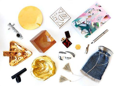 Amber, Tartan, Design, Earrings, Plaid, Breakfast, Snack, Fashion design, Recipe, Body jewelry,