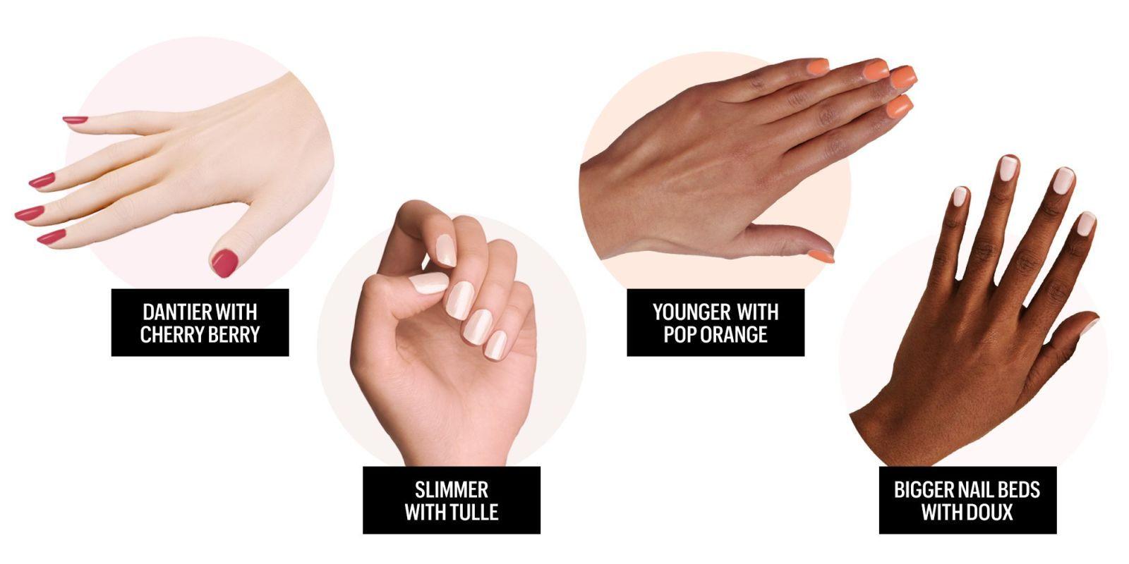 Nail Polish Colors For Dark Skin - Worksheet & Coloring Pages