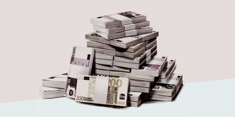 Property, Money, Cash, Currency, Paper product, Banknote, Paper, Material property, Collection, Money handling,