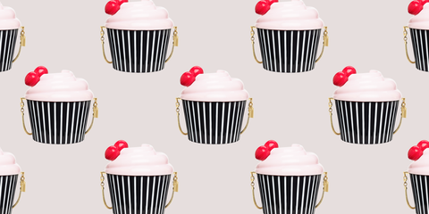 Food, Sweetness, Baked goods, Dessert, Cupcake, Baking cup, Cake decorating supply, Logo, Cake, Snack,