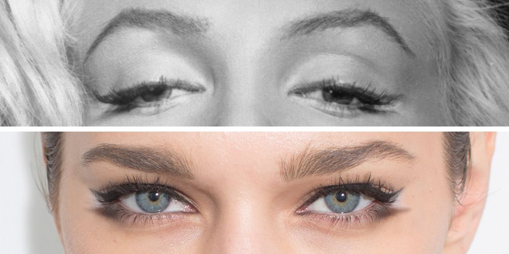 . Marilyn Monroe Eyeliner Trick   How to Draw a New Cat Eye