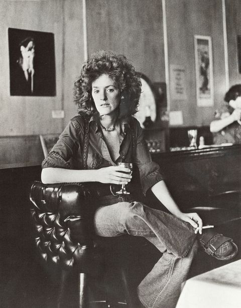 """<p>She is hands-down the most badass woman in the book. Look at Colleen's perfect crown of hair; look at her super-chill pose, holding a cigarette in one hand and a drink on the other; look at her woolly socks worn with her Birkenstock sandals. Everything about Colleen says: """"I'm in control,"""" and you know what? We want to be in control too. The <a href=""""http://lennyletter.us11.list-manage1.com/track/click?u=a5b04a26aae05a24bc4efb63e&id=2546f42a5b&e=71065657c9"""" target=""""_blank"""">button-down shirt</a> is one of those pieces annoyingly touted as a """"basic"""" by every single fashion magazine editor ever, but listen, they're not wrong! A slightly oversize slouchy blouse automatically brings about a certain relaxed vibe to your look. And honestly, we were on the fence about <a href=""""http://lennyletter.us11.list-manage.com/track/click?u=a5b04a26aae05a24bc4efb63e&id=66121e16f7&e=71065657c9"""" target=""""_blank"""">Birkenstocks</a> until we saw this photograph, but the look is undeniable. Plus, it really allows us to indulge in one of our favorite useless vices, buying <a href=""""http://lennyletter.us11.list-manage.com/track/click?u=a5b04a26aae05a24bc4efb63e&id=41f213a10a&e=71065657c9"""" target=""""_blank"""">funky socks</a>.</p><p><br></p><p><i>Laia Garcia is the associate editor of Lenny.</i><span class=""""redactor-invisible-space""""><br></span></p><p><i><i><br></i></i></p><p><i><i>Lenny is an email newsletter founded by Lena Dunham and Jenni Konner, the creators of HBO's Girls. Subscribe now at </i><a href=""""http://lennyletter.com/""""><i>lennyletter.com</i></a><i>.</i> </i><br></p>"""