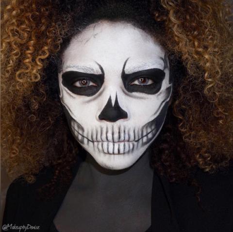 30 Best Halloween Makeup Ideas of 2017 from Instagram