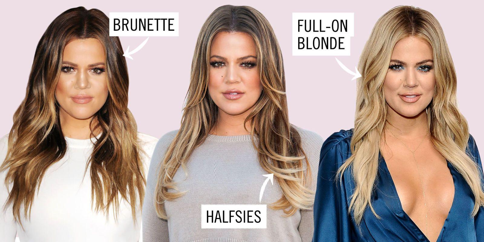 Going brunette from blonde