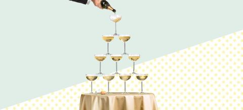 Getty Design By Katja Cho New Year S Eve And Champagne