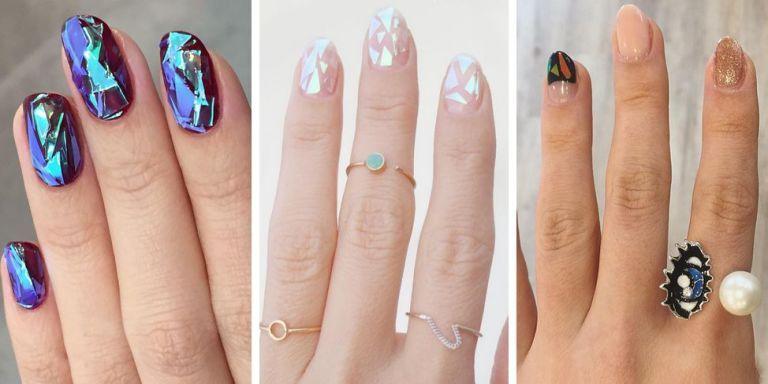 Korean Glass Nails Trend
