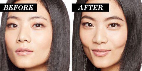 Lip, Cheek, Brown, Hairstyle, Skin, Chin, Forehead, Eyelash, Eyebrow, Facial expression,