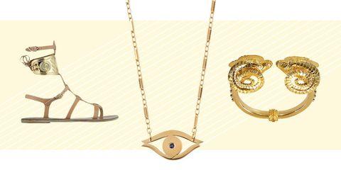 Metal, Jewellery, Beige, Tan, Brass, Chain, Natural material, Circle, Body jewelry, Bronze,