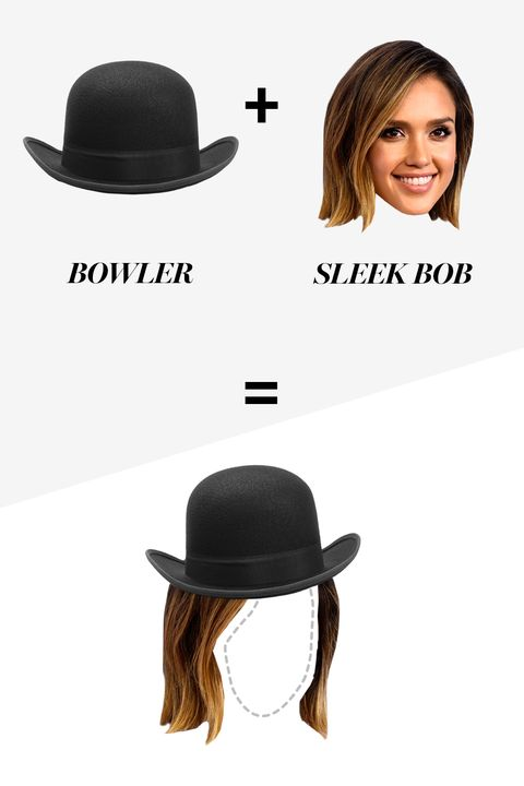 "<p>Rosenkranz recommends a straight, sleek bob with a bowler hat as the ""hair and hat balance each other out and create a cool silhouette."" Every other stylist agrees—meaning it's an all-around safe bet. </p>"