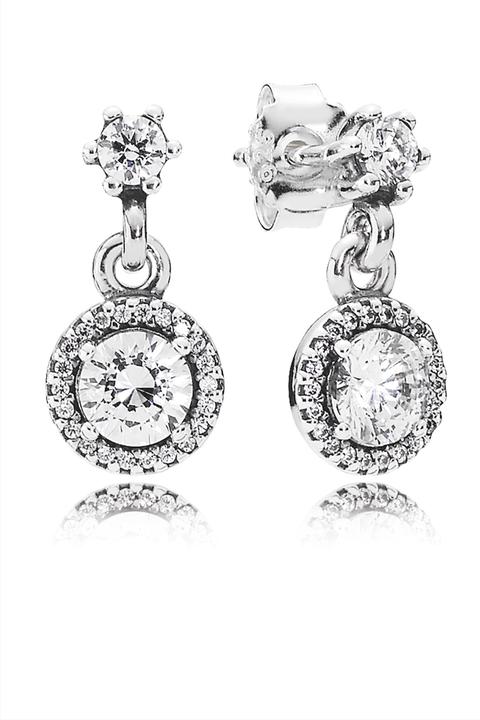 "<p>These sparklers will elevate any outfit, and are sure to become a favorite for anyone who gets them—they're just so *pretty*. </p><p>Pandora Classic Elegance Earrings, $95; <a href=""http://www.pandora.net/en-us/explore/products/earrings/290594cz"" target=""_blank"">pandora.net</a></p>"