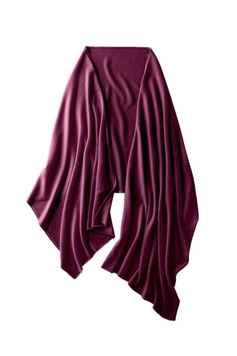 "<p>Cashmere. Do we really need to say more? This wrap is the perfect wardrobe catch-all that can be used to snuggle up as a blanket, worn as an extra layer, used as a going out wrap...you get the gist. </p><p>Garnet Hill Cashmere Wrap, $188; <a href=""http://www.garnethill.com/cashmere-wrap/334124"" target=""_blank"">garnethill.com</a>.</p>"