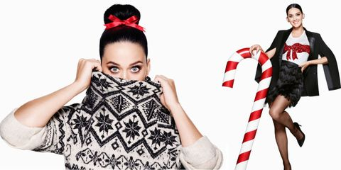 You Will Want Everything from Katy Perry's H&M Holiday Campaign
