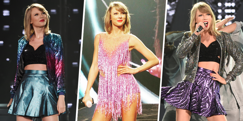 Taylor Swift 1989 Tour Costumes Taylor Swift Stage Style