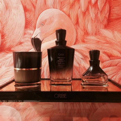 "<p>There's nothing more intoxicating than Oribe's signature scent, rich with Calabrian bergamot, white butterfly jasmine, and sandalwood. It's heaven, we tell you. </p><p>And thus, the brand's new quick-absorbing Cote D'Azur for hair and body is the most luxe 2-for-1 we can imagine. Whether you're nourishing your skin or slicking your hair back (it's totally safe for processed strands), you will be glowy and sweet smelling all over. Plus, the apothecary-like ombré bottle is chiiiic.</p><p>Oribe's Côte d'Azur Luminous Hair and Body Oil, $68; <a href=""http://bit.ly/1lma2ui"" target=""_blank"">barneys.com</a>.<br></p>"