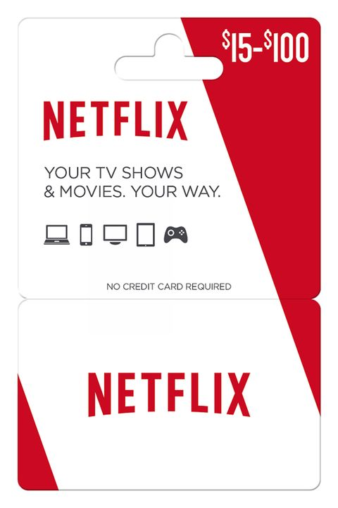 "<p>Because Netflix and chill &gt; go outside and be chilled.</p><p><strong>Netflix Gift Card, starts at $15; <a href=""https://storelocator.gmgpulse.com/v2/partner/netflix?locale=en-US"" target=""_blank"">netflix.com</a> for stores.</strong></p>"