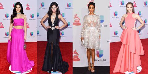 Clothing, Head, Human, Dress, Shoulder, Flooring, Red, Formal wear, Pink, Style,