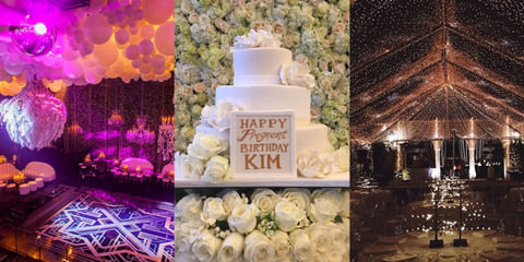 even the haters have to admit it the kardashian jenners know how to throw a party from on the fly nuptials to north wests 1st birthday a celebration of