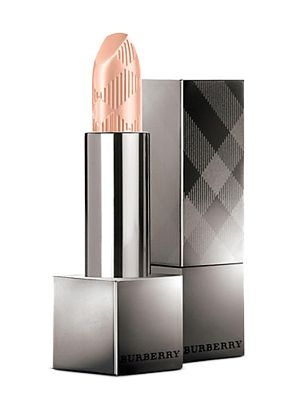 "<p>Swipe on one coat for a subtle look or build for depth.</p><p><strong>Burberry Kisses Lip Colour in Nude Beige, $33; </strong><a href=""http://www.saksfifthavenue.com/main/ProductDetail.jsp?PRODUCT%3C%3Eprd_id=845524446813920&site_refer=GGLPRADS001&prod_id=0400087026236&cagpspn=pla&CAWELAID=500002830008644951&catargetid=500002830009615658&cadevice=c&gclid=CK3zxfnLnckCFQyPaQodL_4ALw"" target=""_blank""><strong>saks.com</strong></a></p>"
