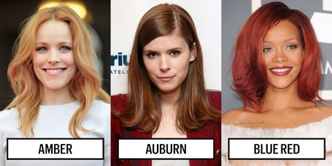 Best color options for red toned hair