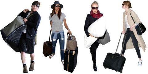 Clothing, Eyewear, Leg, Vision care, Product, Brown, Bag, Shoulder, Textile, White,