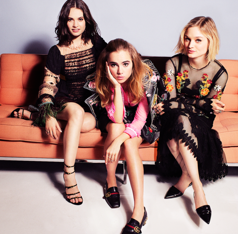 'Pride and Prejudice and Zombies' Stars Lily James, Bella Heathcote, and Suki Waterhouse Are the Coolest Women in the World Right Now