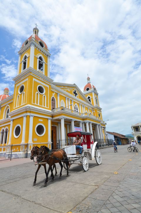 <p>Year-round warm weather, anyone? Between the colonial architecture, activities at Lake Nicaragua, and the dormant Mombacho volcano, there's tons to see and do whether you're a history buff or water sport enthusiast.</p><p><strong></strong><strong>1 KM Taxi Ride:</strong>  $1.20</p><p><strong>Domestic Beer:</strong> $1</p><p><strong>Meal-for-1 in an Inexpensive Restaurant:</strong> $6<strong></strong></p><p><strong>1 Night in a 3-Star Hotel: </strong>$69</p>