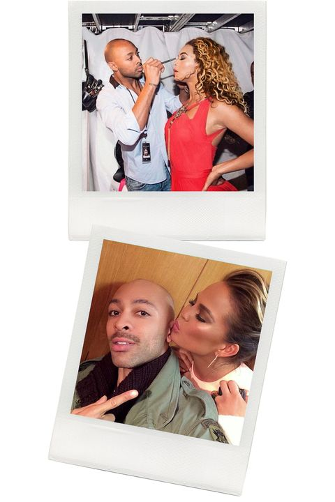 """<p>With a combined following of almost 100k on Instagram and Twitter, this makeup artist has achieved his own star status with snaps of his globetrotting life and behind-the-scenes work on clients like Beyoncé (above), Karlie Kloss, Joan Smalls, Iman, and Chrissy Teigen. """"Social media has become my portfolio, and it's a way for me to inspire others and get inspired,"""" says Sir John.</p>"""