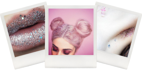 Skin, Eyebrow, Eyelash, Violet, Purple, Pink, Style, Lavender, Organ, Magenta,