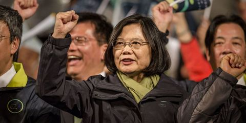 Taiwan Just Elected Its First Female President