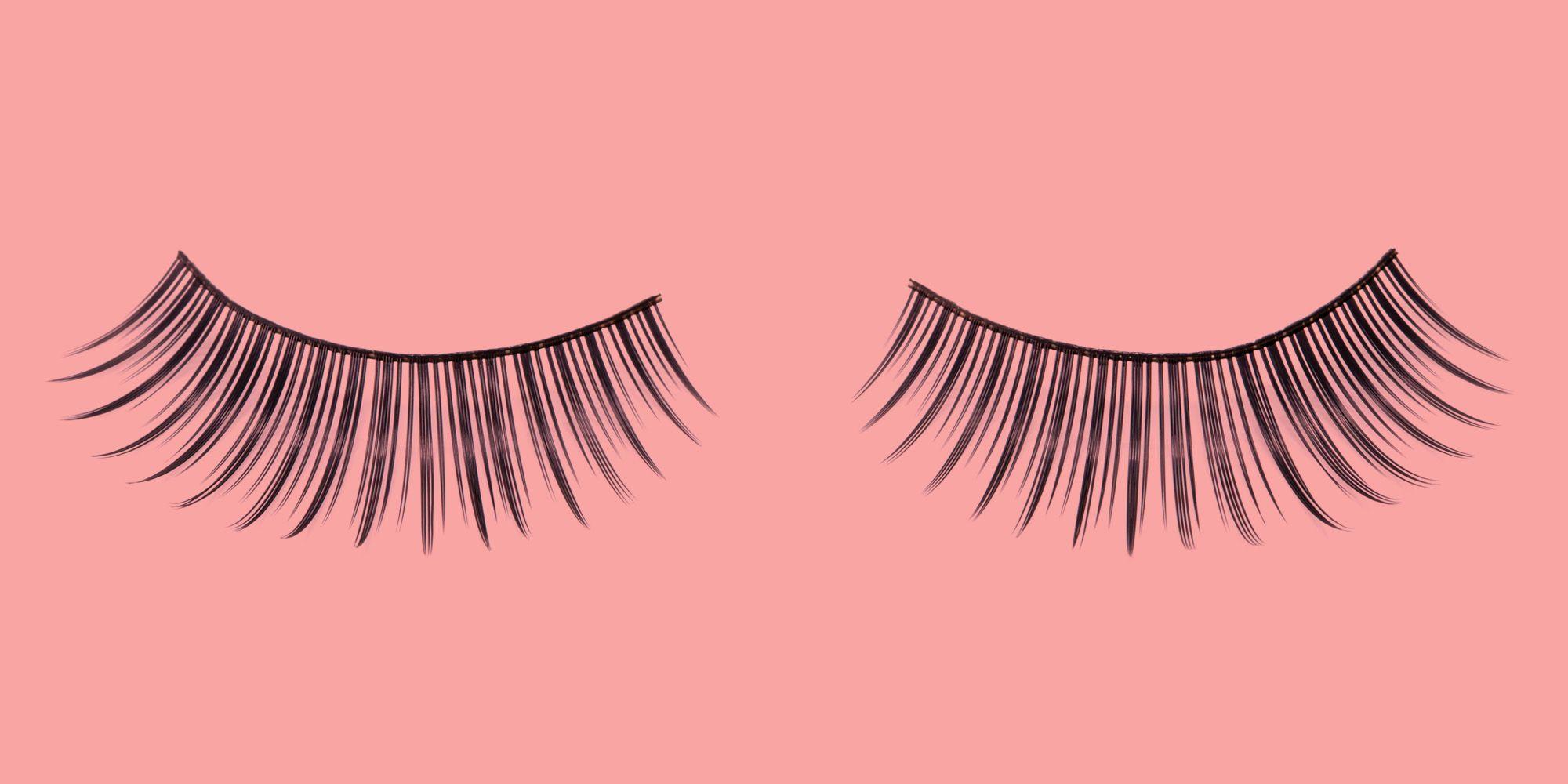 Fake Eyelashes How To Apply Fake Eyelashes Step By Step