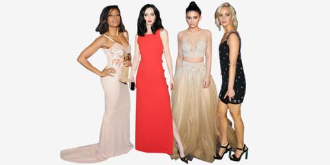 Brown, Sleeve, Dress, Shoulder, Textile, Joint, Standing, Formal wear, Waist, Style,