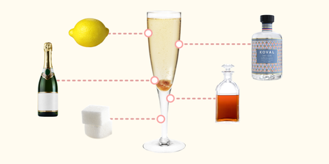 Attention, Cocktail Enthusiasts: This Is the Best French 75 Recipe