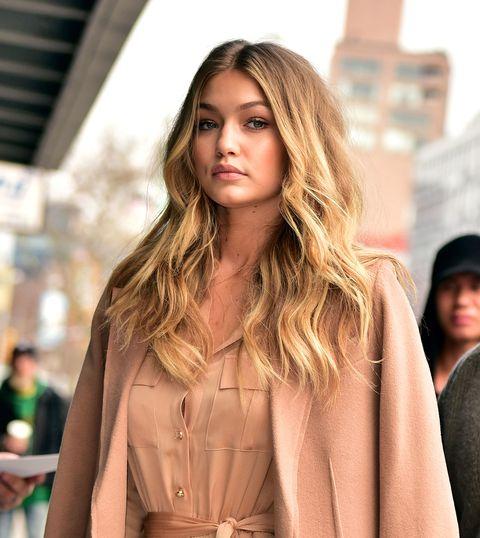 Lip, Sleeve, Textile, Coat, Style, Street fashion, Jacket, Fashion model, Fashion, Blond,