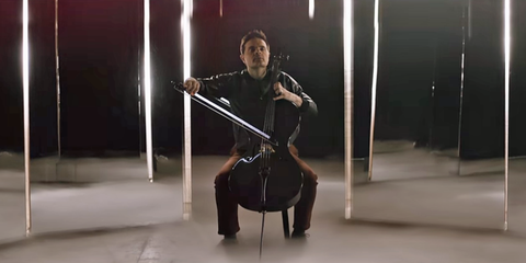 "Watch This Incredible Cello Cover of Adele's ""Hello"""