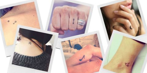 21 Tattoos So Tiny, Even Your Mom Will Like Them