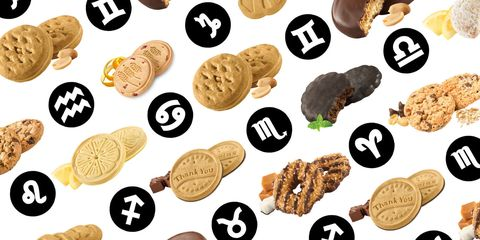 Best Girl Scout Cookie for Your Sign