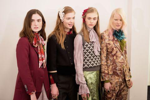 Face, Sleeve, Coat, Style, Fashion accessory, Collar, Blazer, Hair accessory, Fashion, Headpiece,