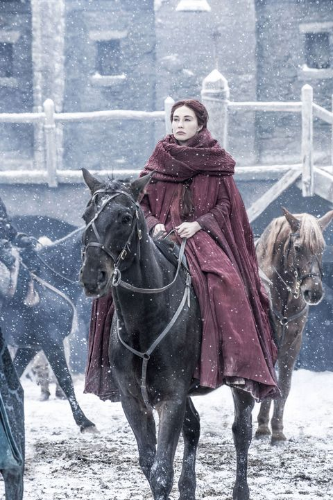 <p>� She'll be coming 'round the mountain to resurrect Jon Snow. �</p>